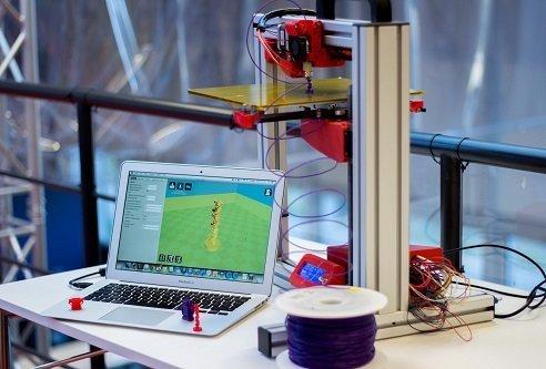 how do 3D printer works